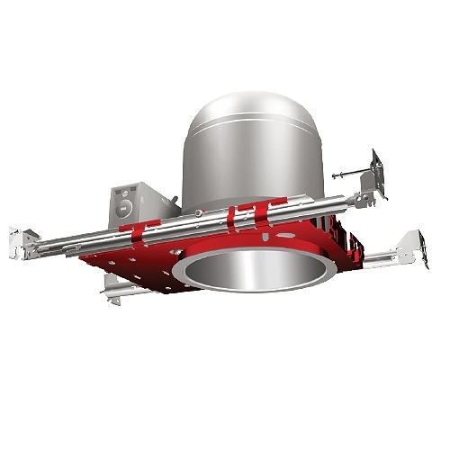 Fire Rated 6 inch recessed lighting air tight IC housing 1-Hour L500 P500 2-Hour L505