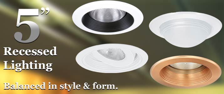5 Inch Recessed Lighting