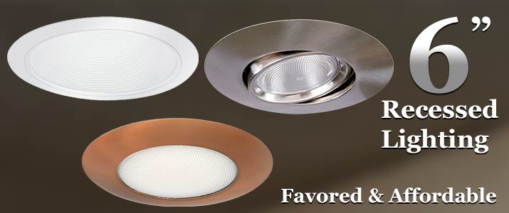 6 Inch Recessed Lighting
