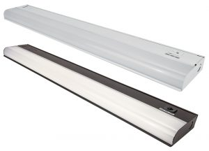 LED Under Cabinet Light Selector White and Bronze