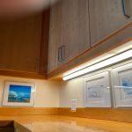 LED Under Cabinet Light Selector Wood Cabinets