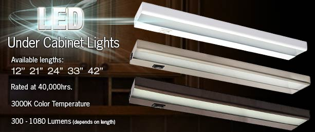 Just added Premium LED Under Cabinet Lights | Total Lighting Blog