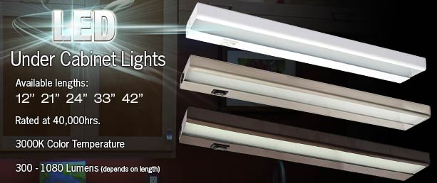 120 Volt Under Cabinet Lighting | MF Cabinets