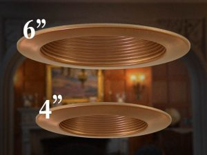"4"" vs 6"" Recessed Lighting"