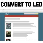 Convert Recessed Lighting to LED